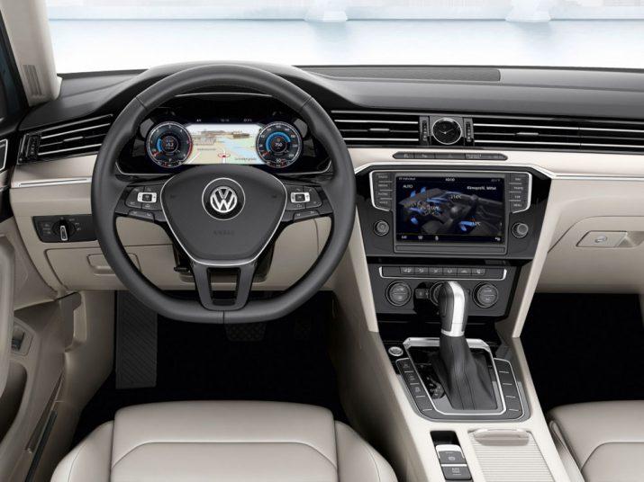 Volkswagen Passat интерьер