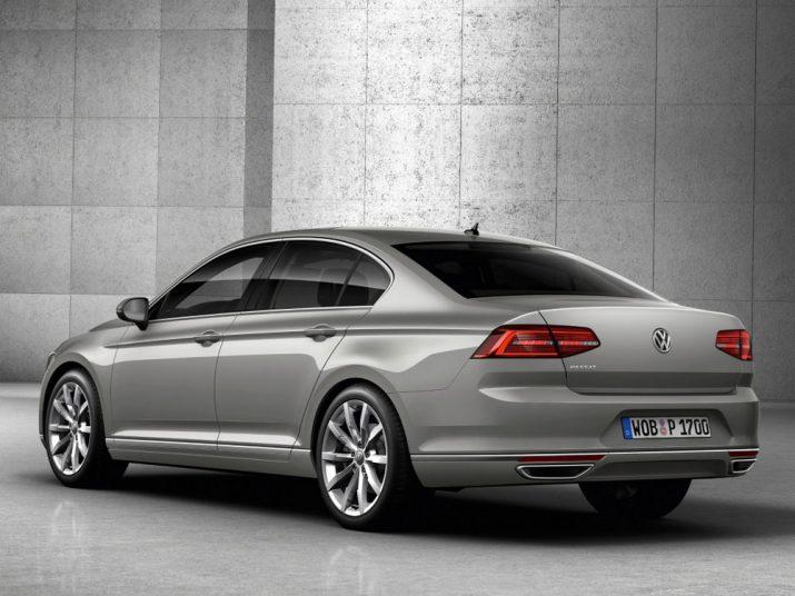 Volkswagen Passat внешний вид