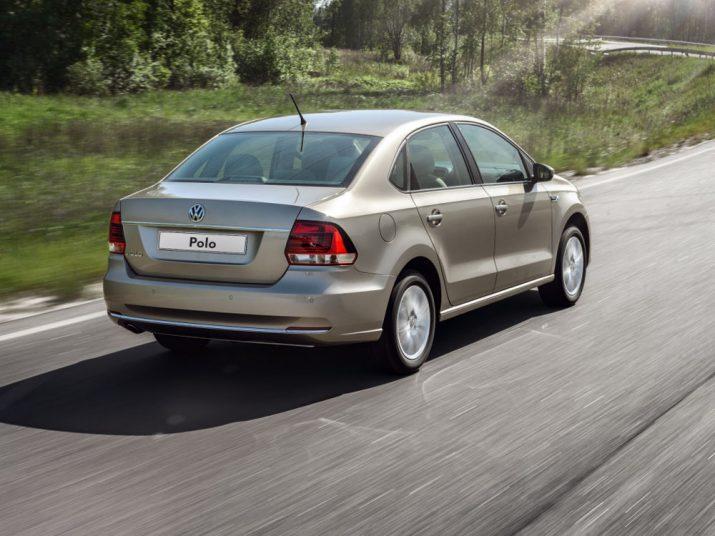 Volkswagen Polo внешний вид