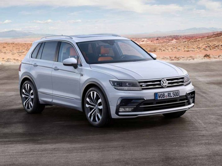 Volkswagen Tiguan экстерьер
