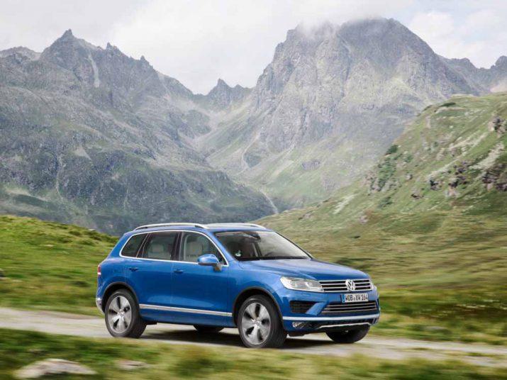 Volkswagen Touareg экстерьер