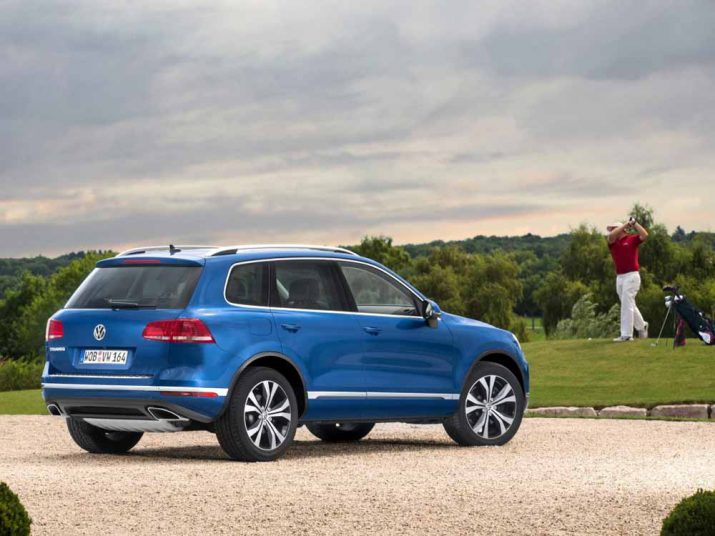 Volkswagen Touareg внешний вид