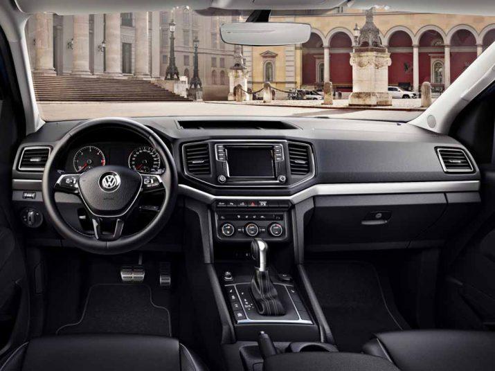 Volkswagen Amarok интерьер