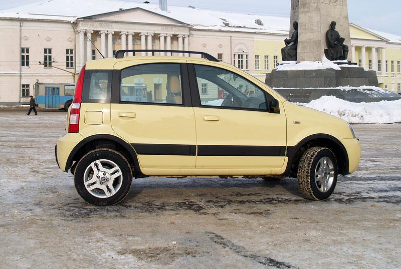 авто фиат панда