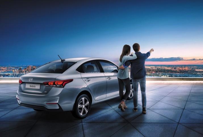 Hyundai Solaris экстерьер