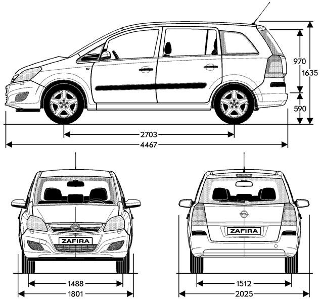 Opel zafira family, ульяновск