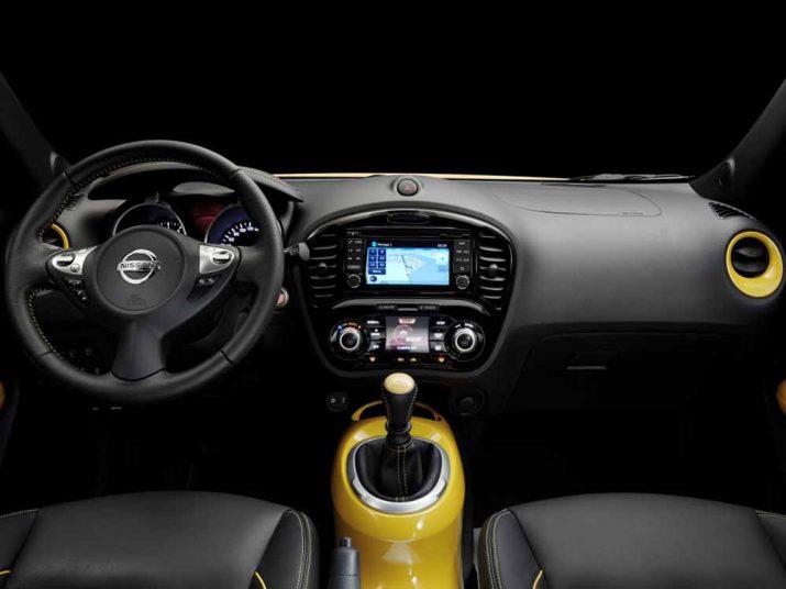 Nissan Juke интерьер