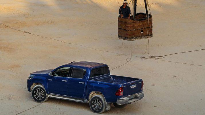 Toyota Hilux внешний вид