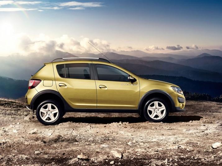Renault Sandero Stepway экстерьер