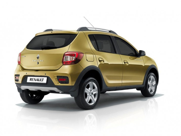 Renault Sandero Stepway вид сзади