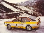 Audi Quattro Group B Rally Car 1983-1986 фото07