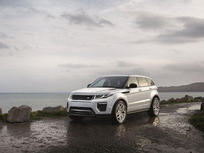 Range Rover Evoque экстерьер