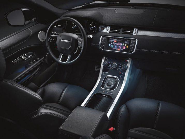 Range Rover Evoque интерьер