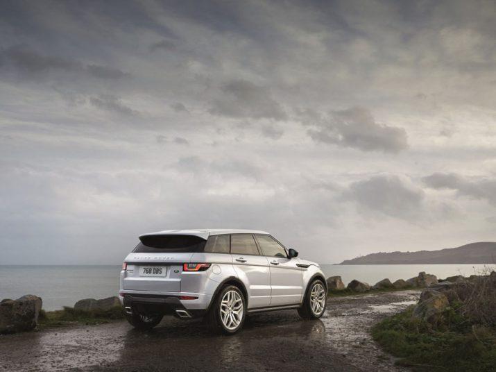 Range Rover Evoque внешний вид
