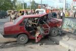 Служебная машина генерал-майора Ивана Нечаева протаранила «девяносто девятую»
