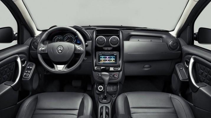 Renault Duster интерьер