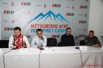 Mitsubishi Агат покоряет север пресс-конференция