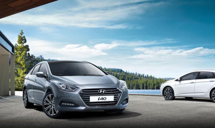 Hyundai i40 экстерьер