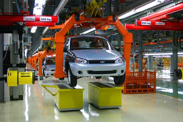 АвтоВАЗ приостановил выпуск автомобилей Lada Kalina и Lada Granta