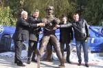 Открытие памятника шофёру Адаму Козлевичу Арконт Волгоград  Фото 28