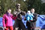 Открытие памятника шофёру Адаму Козлевичу Арконт Волгоград  Фото 34