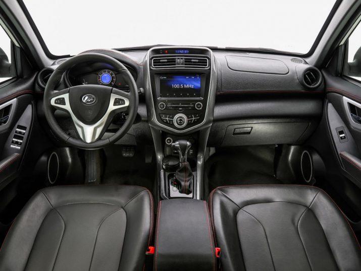 Lifan X60 интерьер