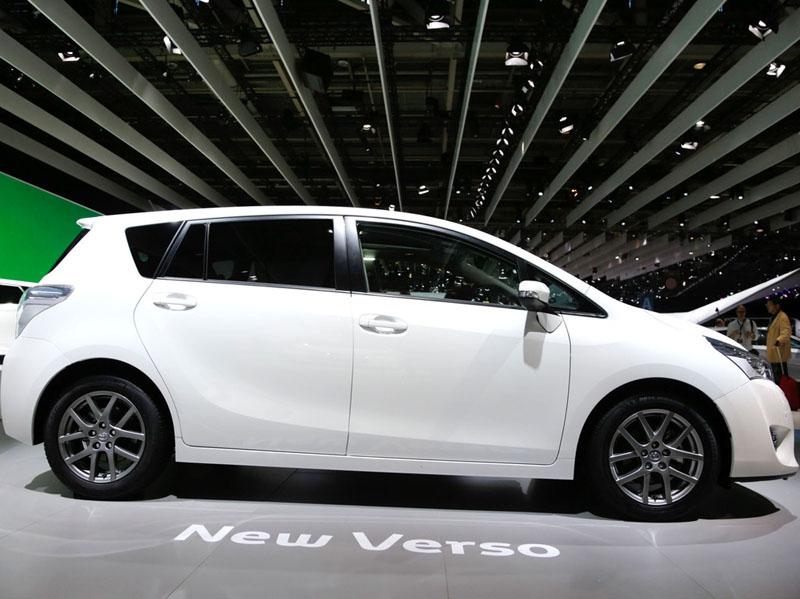 Тойота версо 2013 фото