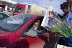8 марта 2013 - Hyundai с ГИБДД поздравляют атоледи - Волгоград Фото 004