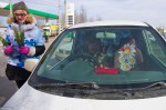 8 марта 2013 - Hyundai с ГИБДД поздравляют атоледи - Волгоград Фото 007