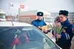 8 марта 2013 - Hyundai с ГИБДД поздравляют атоледи - Волгоград Фото 11