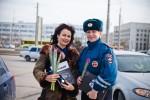 8 марта 2013 - Hyundai с ГИБДД поздравляют атоледи - Волгоград Фото 23