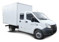 ГАЗель NEXT изотермический фургон со сдвоенной кабиной - длинная база