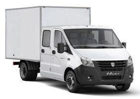 ГАЗель NEXT промтоварный фургон со сдвоенной кабиной
