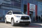 Презентация нового кроссовера Toyota Highlander в Волгограде