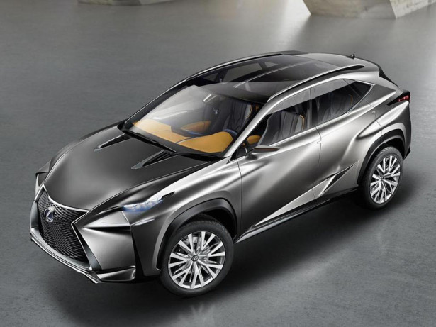 Концепт Lexus LF-NX 2014 Фото 03