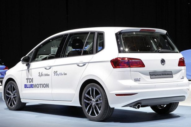 Volkswagen Golf  Sportsvan TDI BlueMotion 2014 Фото 02