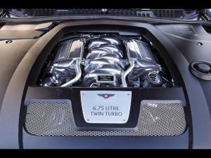 двигатель Bentley