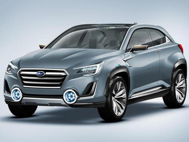 концепт Subaru Viziv 2 2014 Фото 09