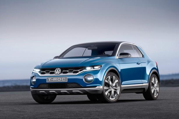 концепт Volkswagen T-Roc 2014 Фото 16