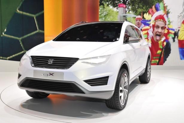 кроссовер Seat IBX Concept 2014 Фото 01
