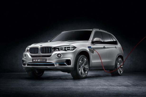Электрический BMW X5 eDrive 2014 Фото 01