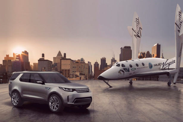 Land Rover Discovery Vision Concept 2014 Фото 01