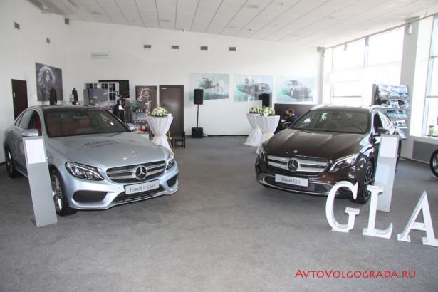 Презентация Mercedes-Benz C и GLA - Фото 01