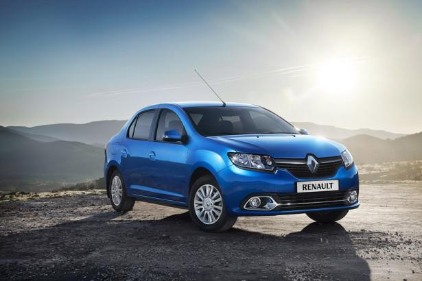 Renault Logan 2014 экстерьер