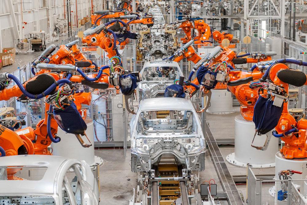 robotics used in automobiles