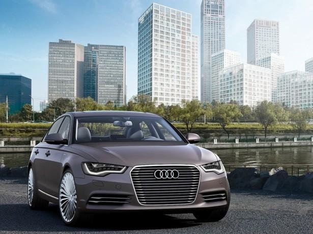 гибрид Audi A6 L e-tron 2015 Фото 03