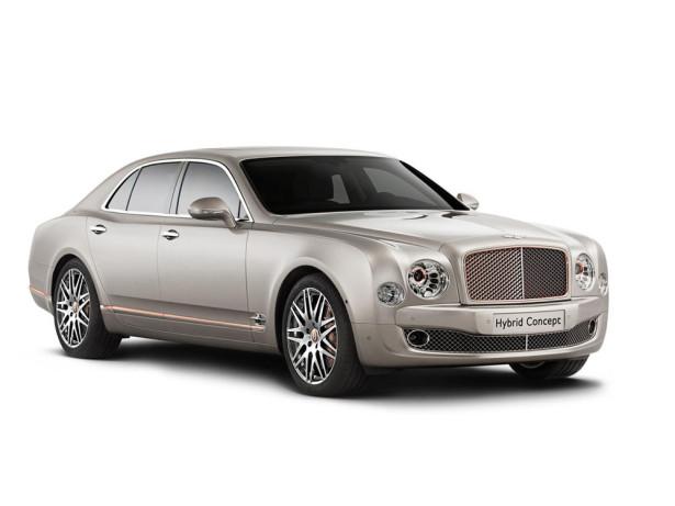 гибрид концепт Bentley 2014 Фото 04