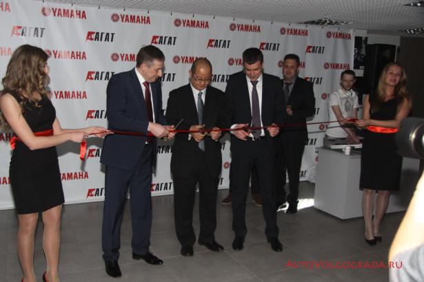 открытие мотосалона Yamaha в Волгограде 2014 Фото 42