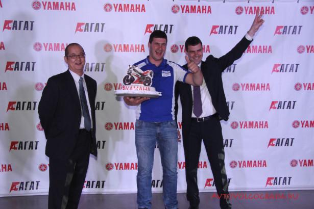 открытие мотосалона Yamaha в Волгограде 2014 Фото 62