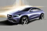 внедорожник Mercedes Concept Coupe  2014 Фото 29